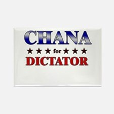 CHANA for dictator Rectangle Magnet
