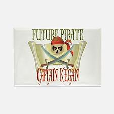 Captain Kegan Rectangle Magnet