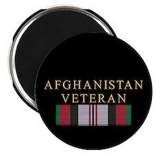 """Afghanistan Veteran 2.25"""" Magnet (100 pack)"""