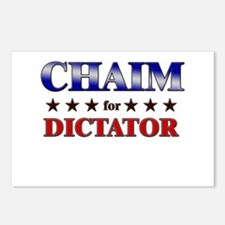 CHAIM for dictator Postcards (Package of 8)