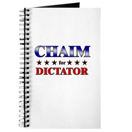 CHAIM for dictator Journal