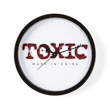 Toxic - Made in China Wall Clock