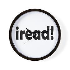 Read! Read! Read! Wall Clock