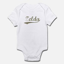 Zelda Old Style Script Infant Bodysuit