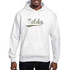 Zelda Old Style Script Hoodie