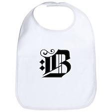 MONOGRAM B Bib