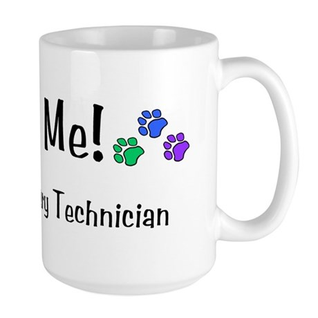 Large Mug - Bite Me - I'm a Vet Tech