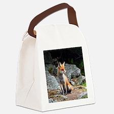 Unique Fox head Canvas Lunch Bag