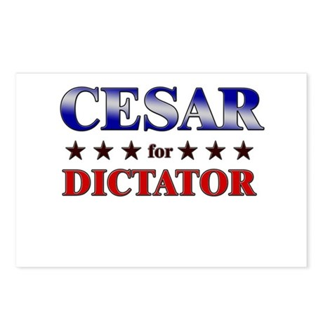 CESAR for dictator Postcards (Package of 8)