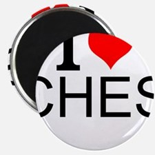 I Love Chess Magnets