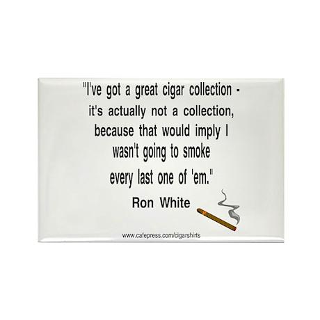 Ron White Cigar Rectangle Magnet (100 pack)