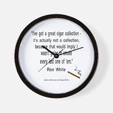 Ron White Cigar Wall Clock