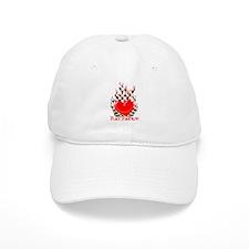 Heart in Flames Baseball Cap