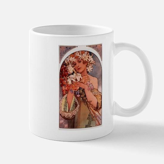 Woman of Mucha Mugs