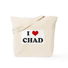 I Love CHAD Tote Bag