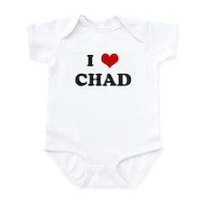 I Love CHAD Infant Bodysuit