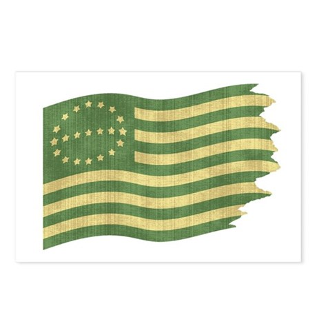 Eco Flag Postcards (Package of 8)
