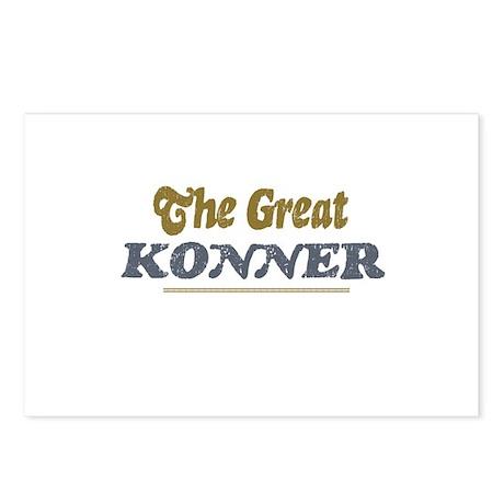 Konner Postcards (Package of 8)