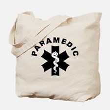 Paramedic Star Of Life Tote Bag