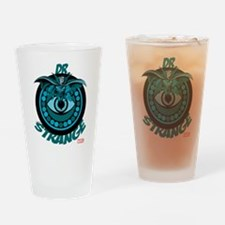 Doctor Strange Blue Drinking Glass