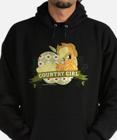 MLP Applejack Country Girl Hoodie (dark)