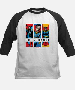 Doctor Strange Panels 2 Kids Baseball Jersey