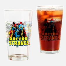 Doctor Strange Panels Drinking Glass