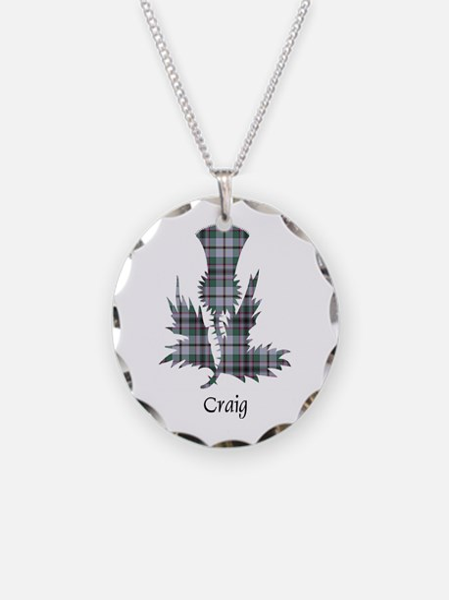 Thistle - Craig Necklace Circle Charm