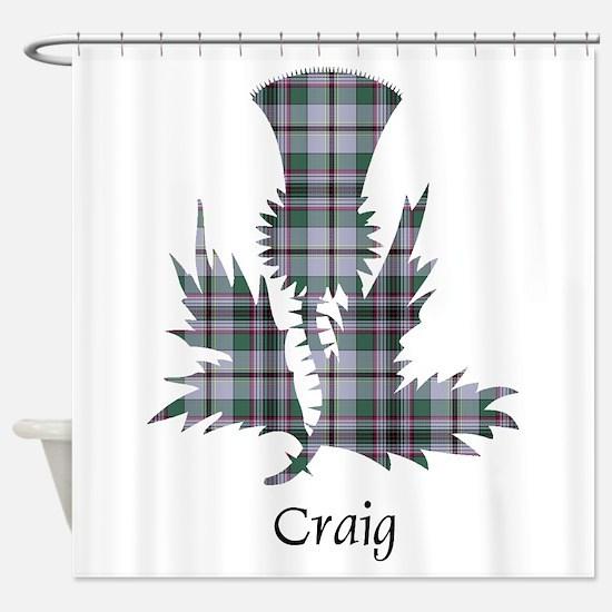 Thistle - Craig Shower Curtain