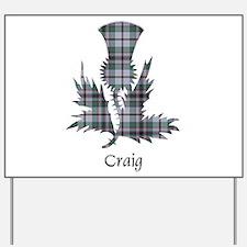 Thistle - Craig Yard Sign