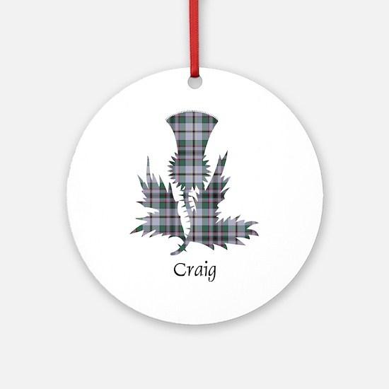 Thistle - Craig Ornament (Round)