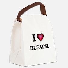 I Love Bleach Canvas Lunch Bag