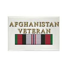 Afghanistan Vet Rectangle Magnet
