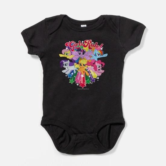 MLP Girls Rule! Baby Bodysuit