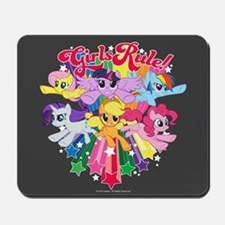 MLP Girls Rule! Mousepad