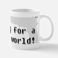 Blogging for a better world Mug