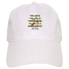 Winston Churchill Cigar Quote Baseball Cap