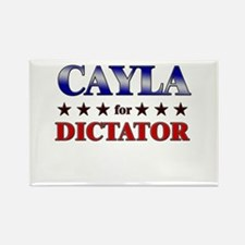 CAYLA for dictator Rectangle Magnet