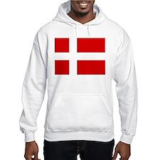 Danish Flag Jumper Hoodie