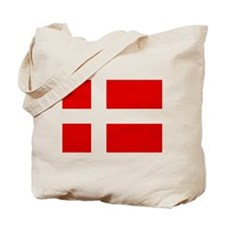 Danish Flag Tote Bag