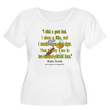 Winston Churchill Cigar Quote T-Shirt