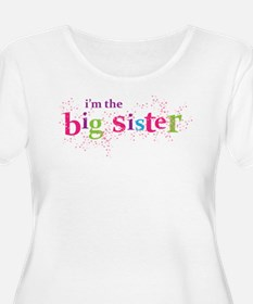big sister scatter Plus Size T-Shirt