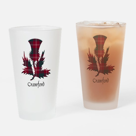 Thistle - Crawford Drinking Glass