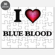 I Love Blue Blood Puzzle