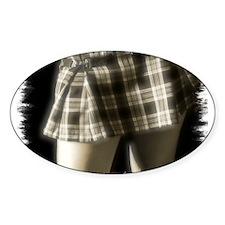 School Skirt Oval Decal