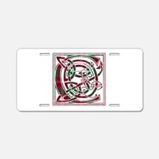 Monogram - Crawford Aluminum License Plate