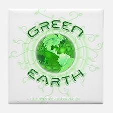Green Earth Tile Coaster