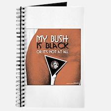 My Bush is Black Journal
