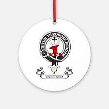 Badge - Crawford Ornament (Round)