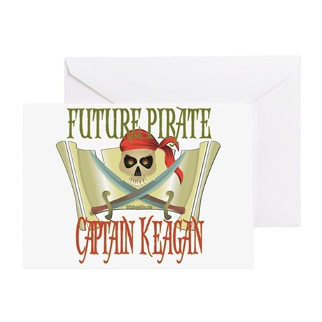 Captain Keagan Greeting Card